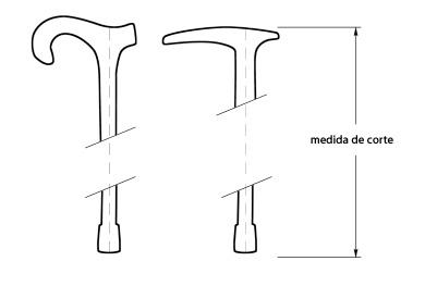 Corte a medida de bastones de Solohombre