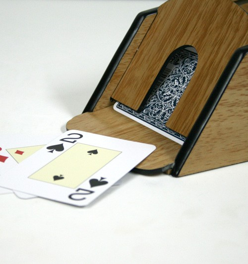 Dispensador de cartas blackjack