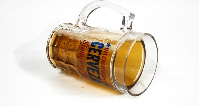 Jarra de cerveza para congelador Siempre fría, Siempre llena