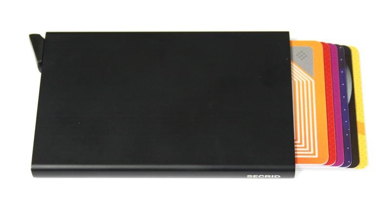 Tarjetero Secrid Cardprotector sencillo, con protección de lectura de tarjetas