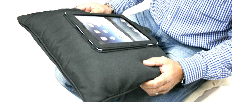 Almohadón atril para el Ipad o tableta - comprar online precio 25€ euros
