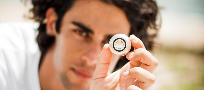 Altavoz bluethooth mini con disparador de fotos selfrie - comprar online precio 29€ euros