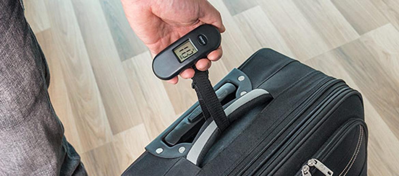 Báscula Pesa maletas para el check-in del aeropuerto - comprar online  Precio 16€ euros