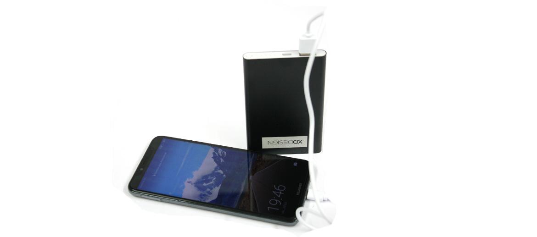 Batería externa para cargar tu móvil o tableta marca XD design - comprar online precio 24€ euros