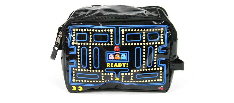 Bolsa de aseo ¡divertida! para los aficionados al juego de los comecocos - comprar online precio 18€ euros