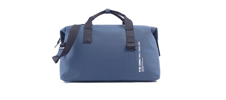 Bolsa de viaje o deporte marca Nava Design color azul - comprar online precio 130€ euros
