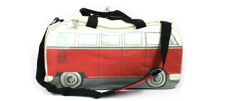 Bolsa pequeña de deporte o viaje con forma de camioneta Volkswagen - comprar online precio 75€ euros