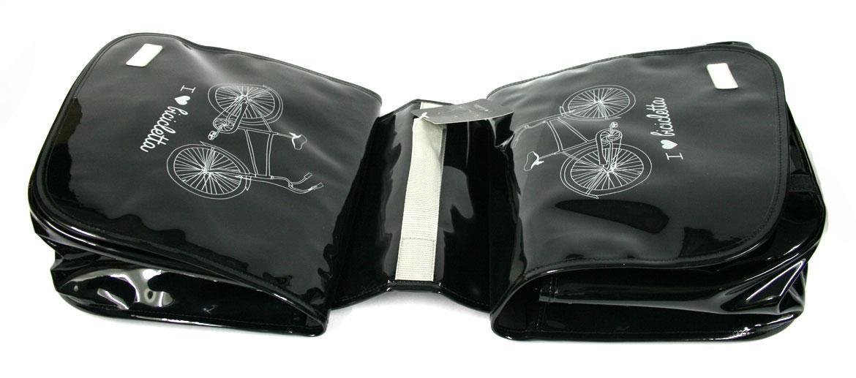 Bolsa zurrón con dos compartimentos  para la bicicleta - comprar online precio 55€ euros