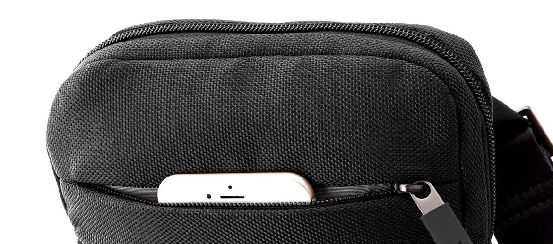 Bolso bandolera de lona porta Ipad mini - comprar online precio 40€ euros