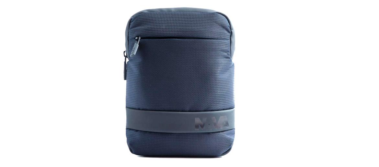 Bolso bandolera porta Ipad mini marca Nava color azul - comprar online precio 40€ euros