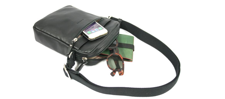 Bolso bandolera mini de piel marca El Potro - comprar online precio 89€ euros