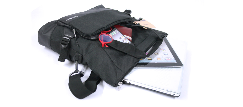 Bolso dos asas para portátil de material ecológico marca Samsonite - comprar online precio 105€ euros