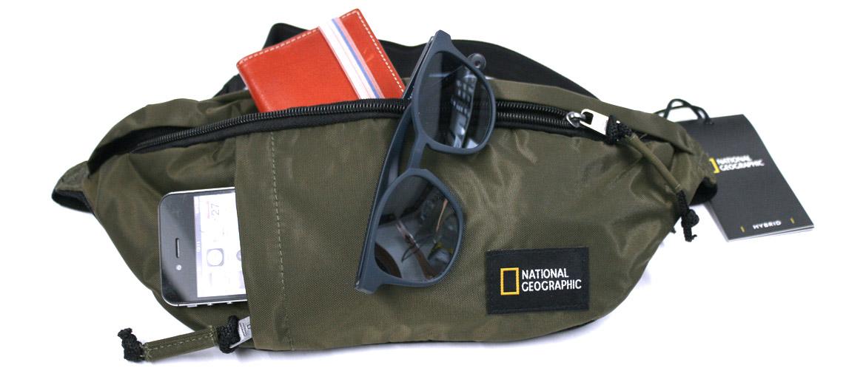 Bolso riñonera para viaje marca National Geographic - comprar online precio 29€ euros