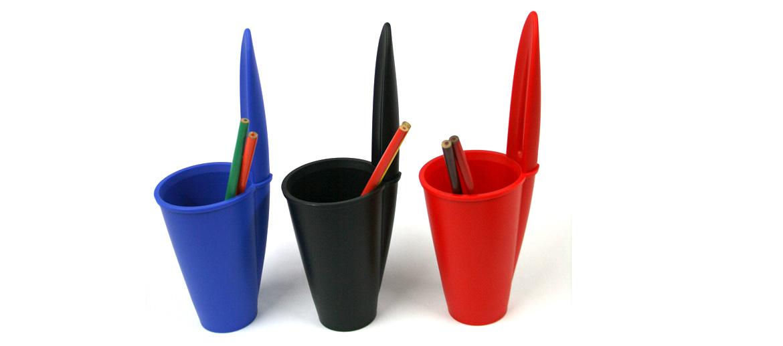 Bote de lápices con forma de funda de bolígrafo Bic - comprar online precio 16€ euros