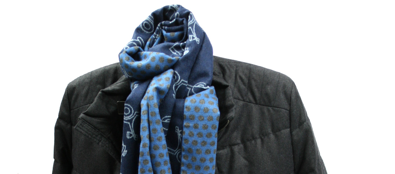 Bufanda foulard con motivo de moto Vespa - comprar online precio 35€ euros