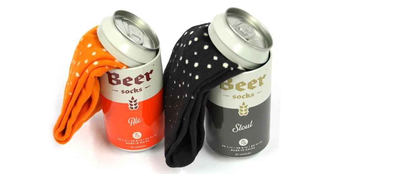 Calcetín camuflado en lata de cerveza - comprar online precio 12€ euros