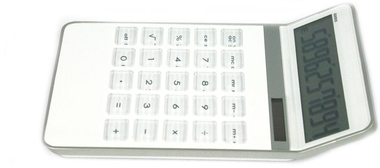 Calculadora 10 dígitos para despacho color blanco - Comprar Precio 20€ euros