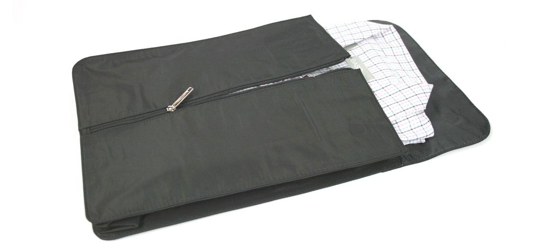 Camisero porta camisas para viaje en Nylon color negro - comprar online precio 50€ euros