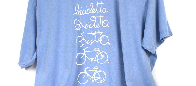 Camiseta de algodón para los forofos de las bicicletas - comprar online precio 25€ euros