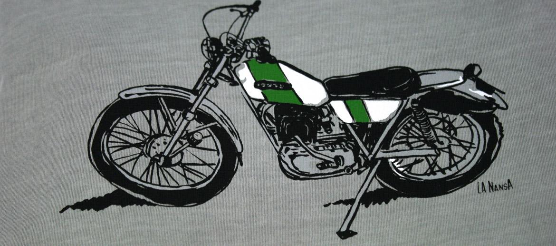 Camiseta de algodón para los nostálgicos de las motos - comprar online precio 25€ euros