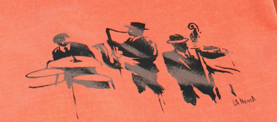 Camiseta para el verano para los amantes de la música de Jazz - comprar online precio 25€ euros
