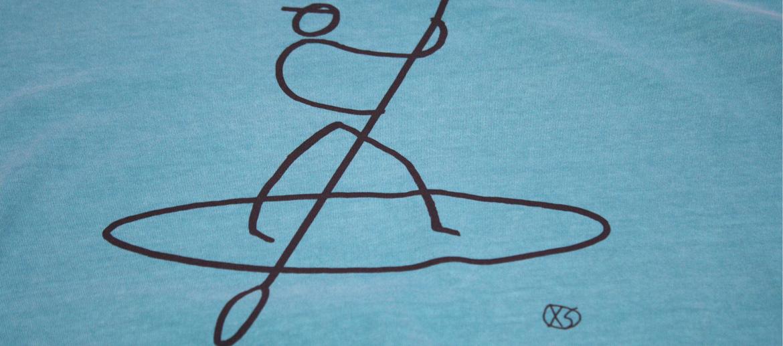Camiseta para el verano para los aficionados al padel surf - comprar online precio 25€ euros