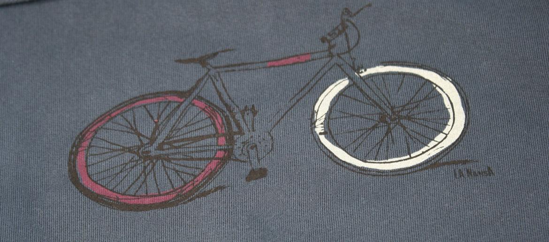 Camiseta sudadera con capucha para los aficionados a las bicicletas - Solohombre