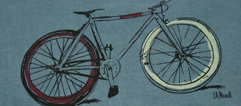Camiseta sudadera con capucha para los aficionados a las bicicletas - comprar online precio 49€ euros