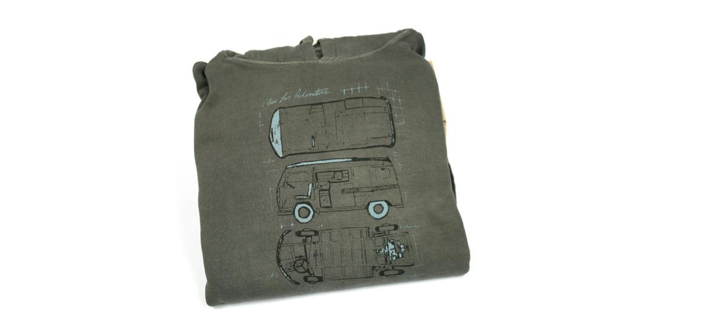 Camiseta sudadera con capucha con dibujo abstracto de furgoneta Van - comprar online precio 49€ euros