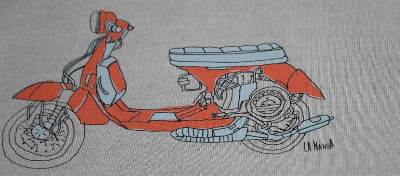 Camiseta sudadera para los aficionados a la moto Vespa - Solohombre