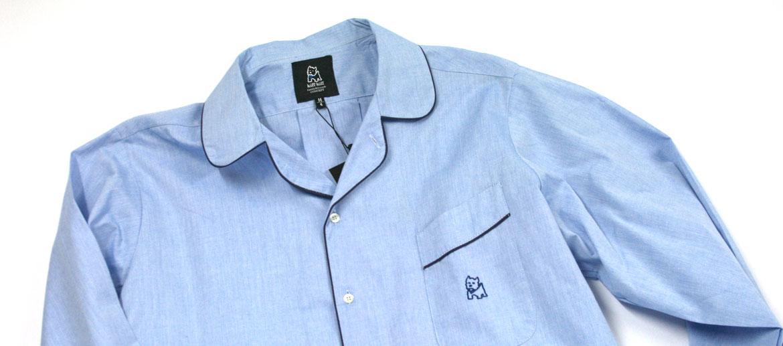 Camisón para hombre de algodón azul - comprar online precio 69€ euros