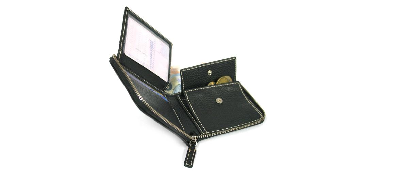 Cartera billetero, monedero con cremallera marca Solohombre - comprar online precio 44€ euros