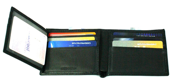 Cartera billetero para muchas tarjetas marca Solohombre - comprar online precio 42€ euros