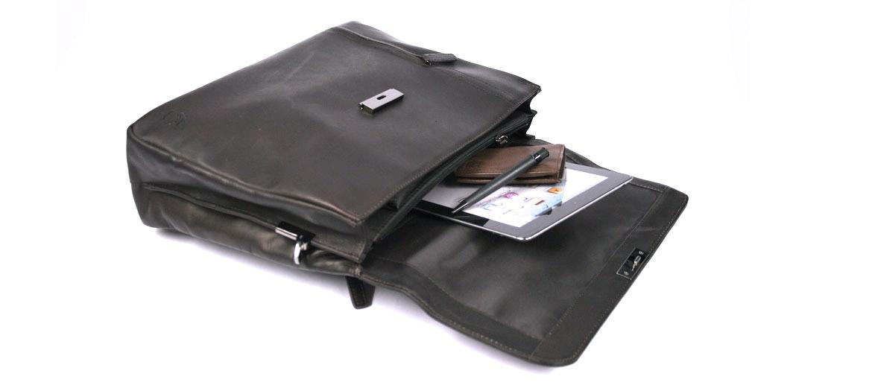 Cartera porta documentos de piel marrón - comprar online precio 169€ euros