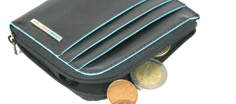 Cartera monedero hombre con cremallera - Comprar Precio 67€ euros - Marca Piquadro