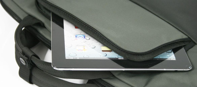 Cartera porta documentos para Ipad o tableta dos asas - comprar online precio 67€ euros