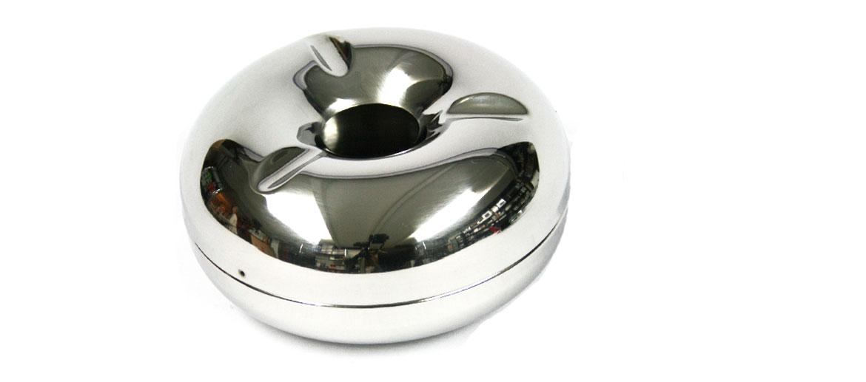Cenicero metal colillas invisibles grande - comprar online precio 20€ euros