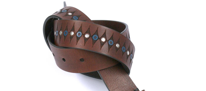 Cinturón de sport con fantasía marca Solohombre - comprar online precio 59€ euros