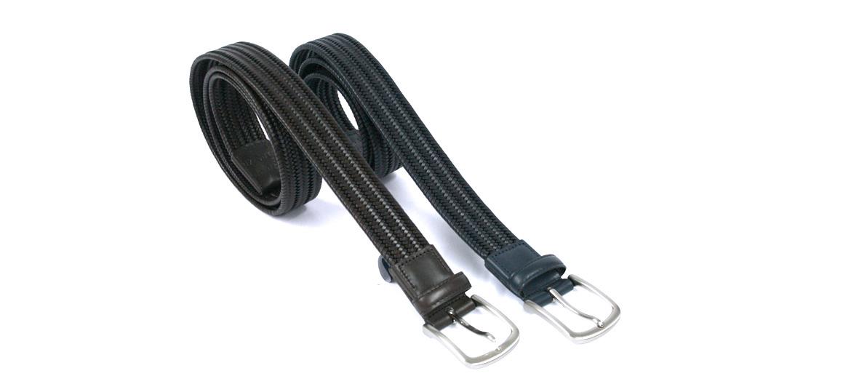 Cinturón elástico trenzado marca Solohombre - comprar online precio 48€ euros