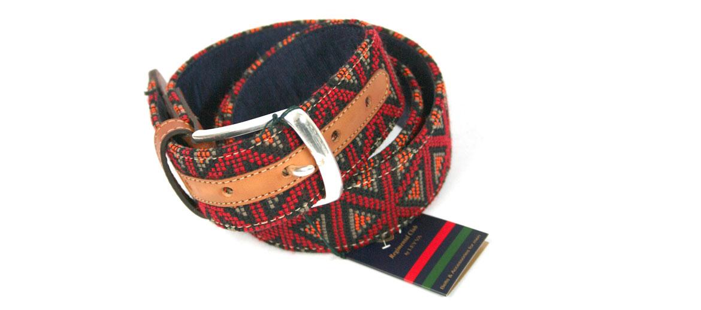 Cinturón tejido Étnico ¡muy de moda! para el verano - comprar online precio 43€ euros