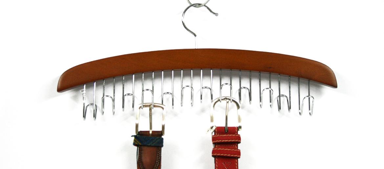 Cinturonero organizador de cinturones tipo percha - comprar online precio 20€ euros