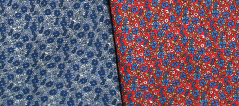 Corbata de seda natural con dibujo de flores - comprar online precio 39€ euros