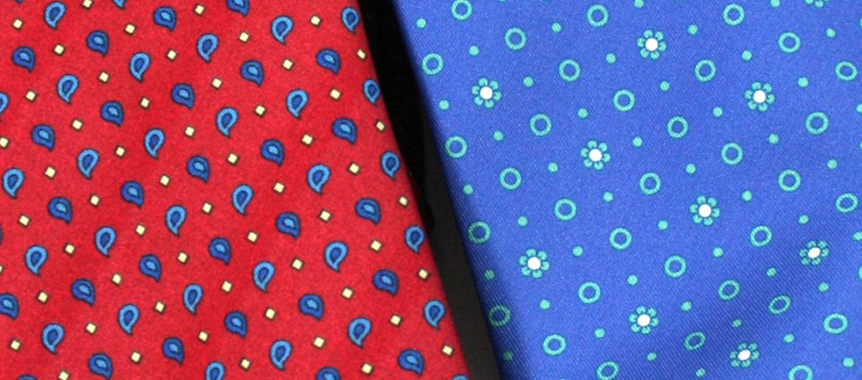 Corbata de seda natural con dibujo discreto para el día a día - comprar online precio 39€