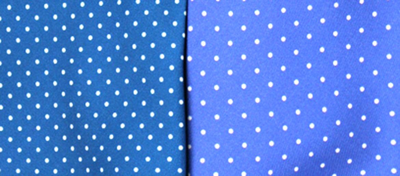 Corbata de seda natural con lunares pequeños - comprar online precio 39€ euros