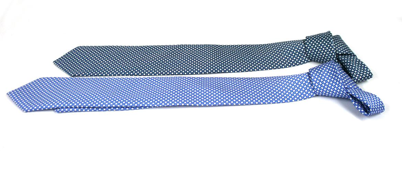 Corbata de seda natural con dibujo discreto para el día a día - comprar online precio 39€ euros