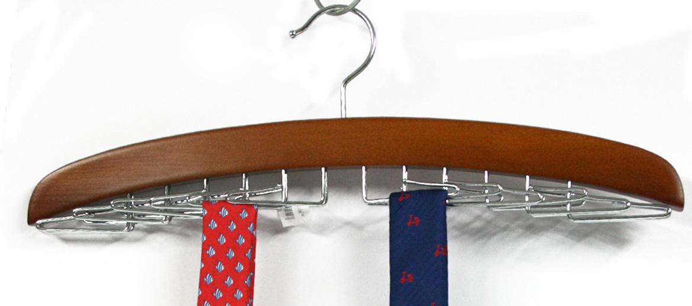 Corbatero tipo percha plano para armario o vestidor - comprar online precio 20€ euros
