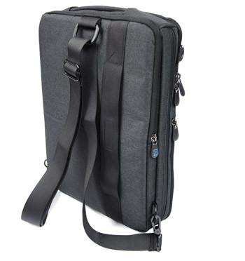 Bandolera hombre convertible en mochila para el portátil o tableta - comprar online precio 53€ euros