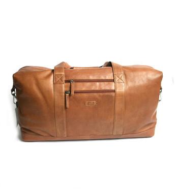 Bolsa de viaje hombre en piel marrón - Comprar online precio 259€ euros