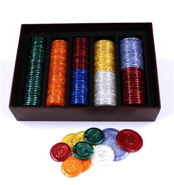 Caja de fichas para tus juegos - comprar online precio 49€ euros