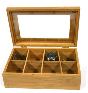 Caja para guardar relojes, gafas o lo que se te ocurra - comprar online precio 39€ euros